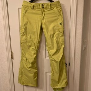 Burton snowboard/ski pants; waterproof